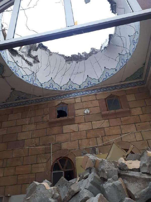 Aksaray'da 'kum fırtınası' cami minaresini yıktı - Sayfa 1