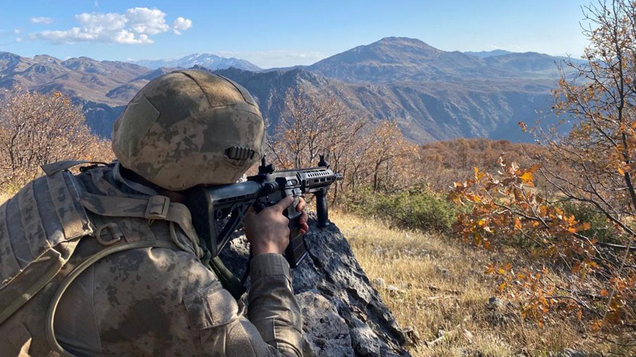 Gara bölgesinde 8 PKK'lı terörist öldürüldü!
