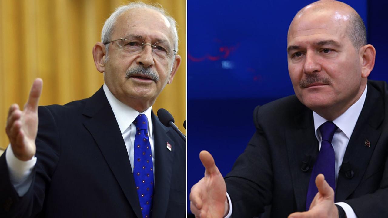 """Soylu'dan ve Kılıçdaroğlu'na """"Sedat Peker"""" tepkisi"""