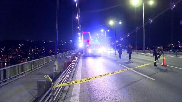 FSM Köprüsü üzerinde 200 metre savruldu - Sayfa 1
