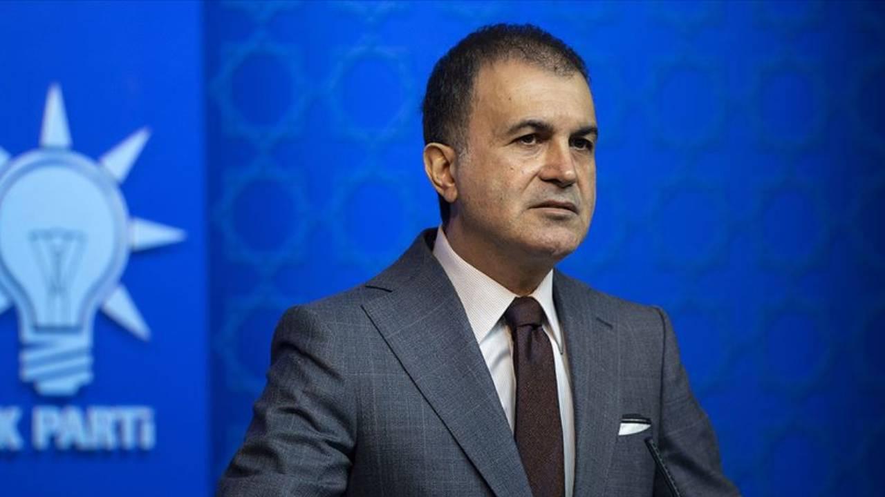 AK Parti Sözcüsü Çelik'ten Filistin açıklaması