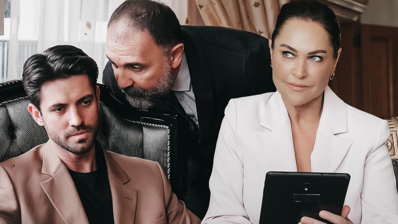 Masumiyet dizisinde Hülya Avşar krizi çıktı; Şirketi basıp ağzına geleni saydı