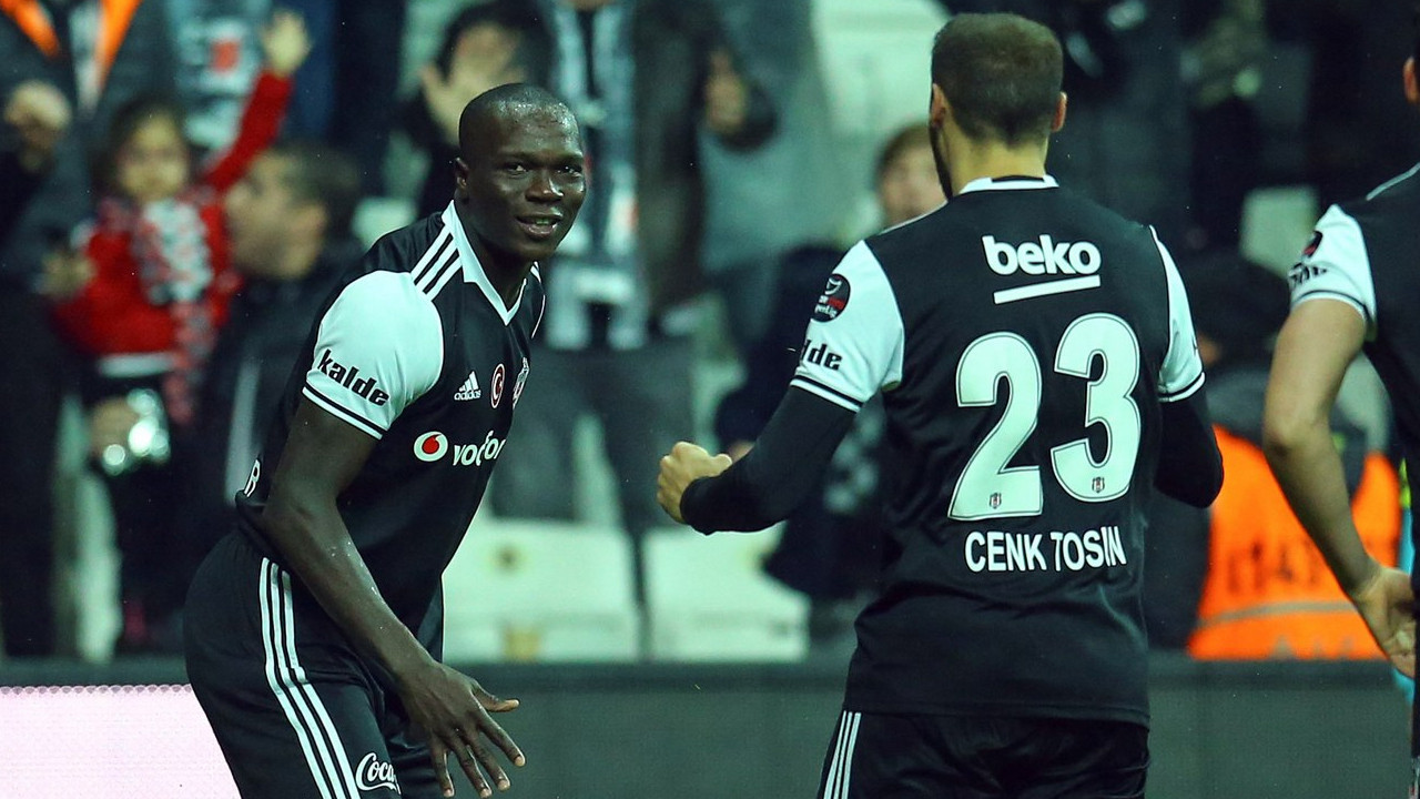 Beşiktaş'ta Cenk Tosun ve Aboubakar'a PFDK'den ceza