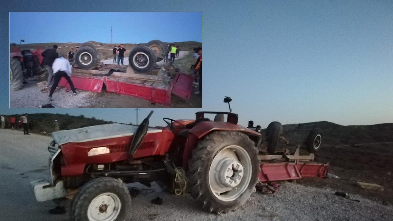 Ankara Haymana'da korkunç kaza! Ölü ve yaralılar var