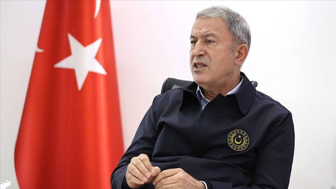 Milli Savunma Bakanı Hulusi Akar: İsrail savaş suçu işliyor