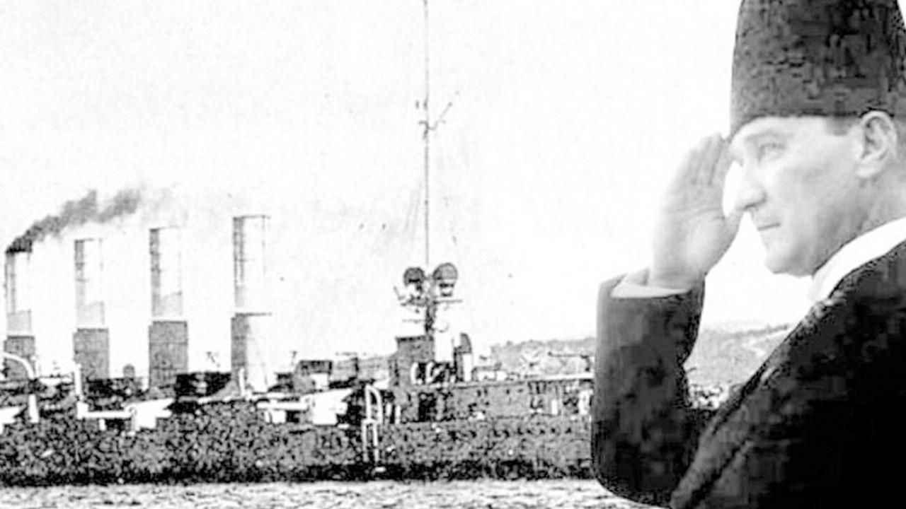 Atatürk'ün Samsun'a çıkışının 102'nci yıldönümü