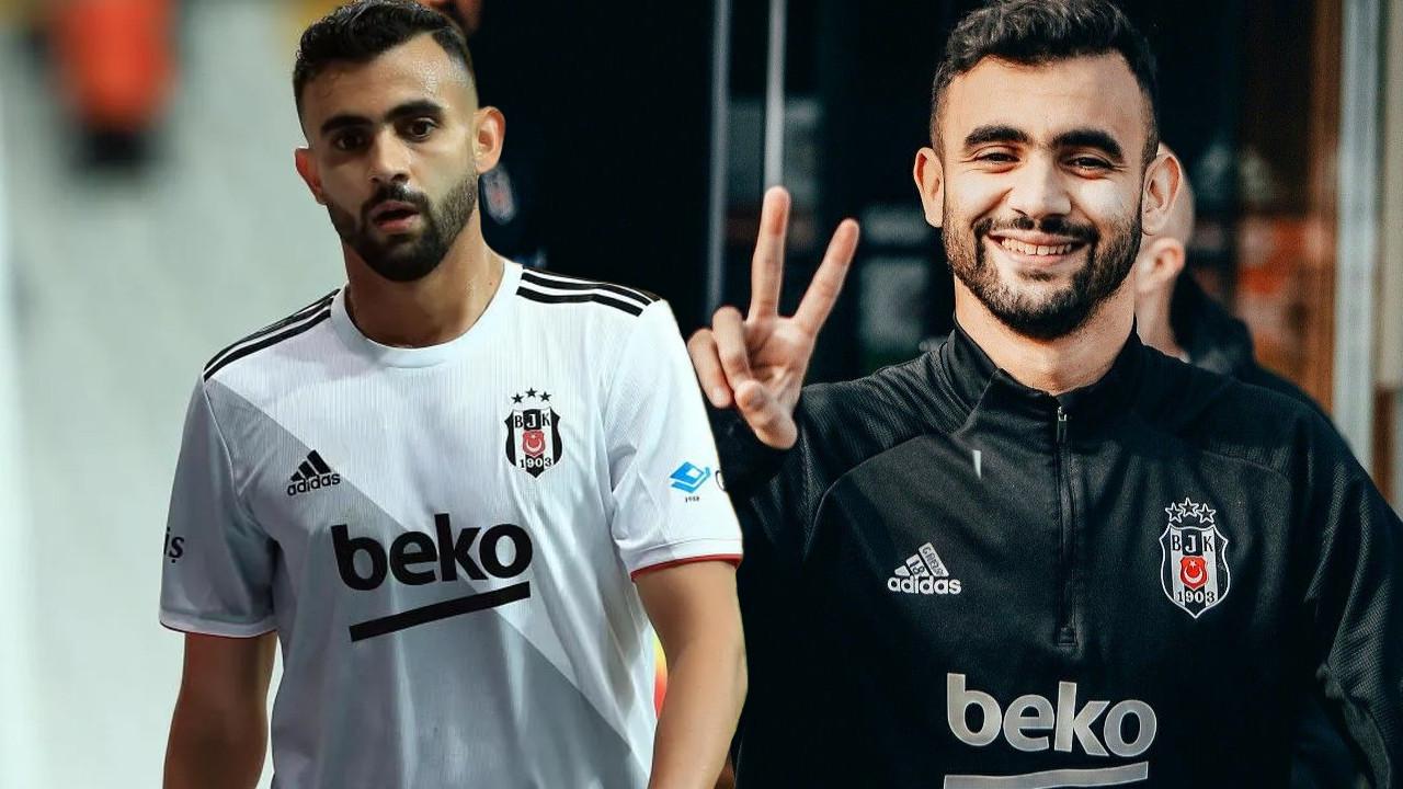 Beşiktaş'ta bir dönem sona erdi; Ve işte Rachid Ghezzal'ın yeni takımı