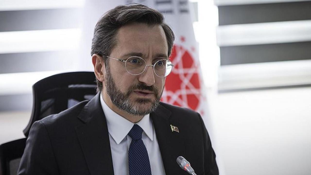 Fahrettin Altun'dan 'Musab Turan' tepkisi: Yeni bir oyun sahneleniyor kirli bir oyun bu!
