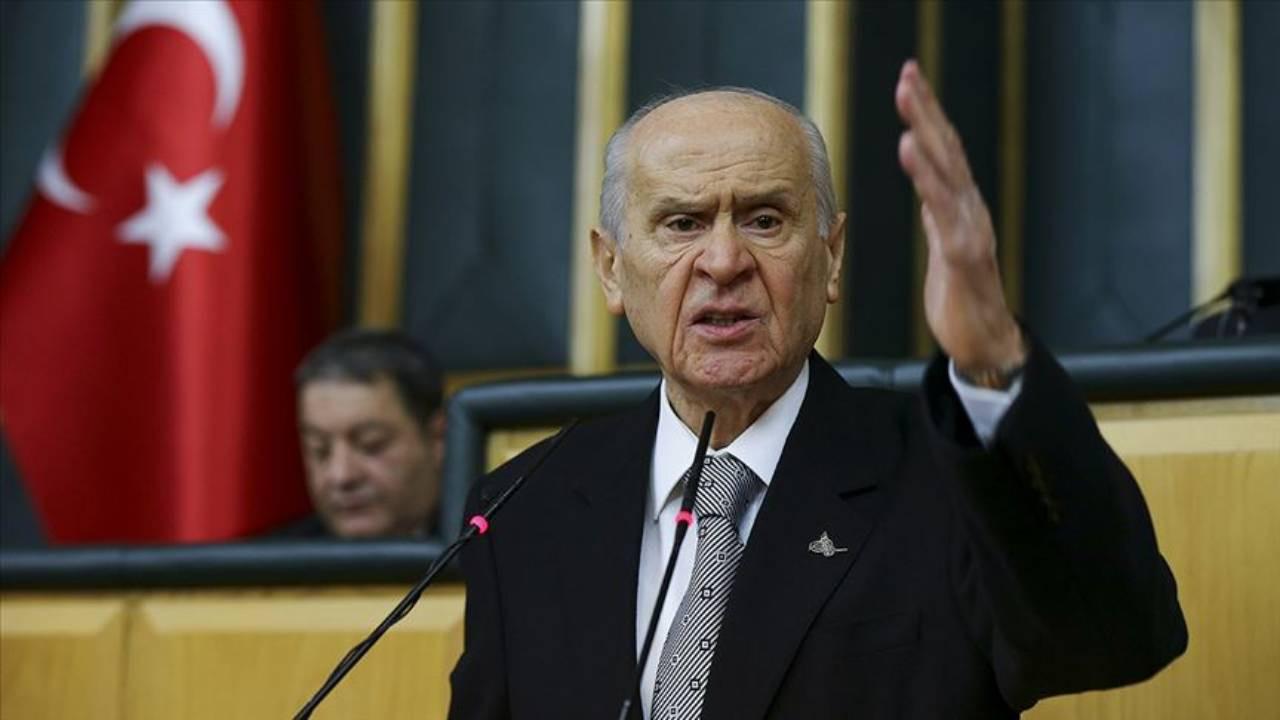 Devlet Bahçeli: Kimse İçişleri Bakanı'nın boynuna tasma geçiremez!