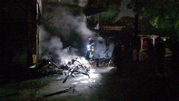 Kereste fabrikası alev alev yandı - Sayfa 2