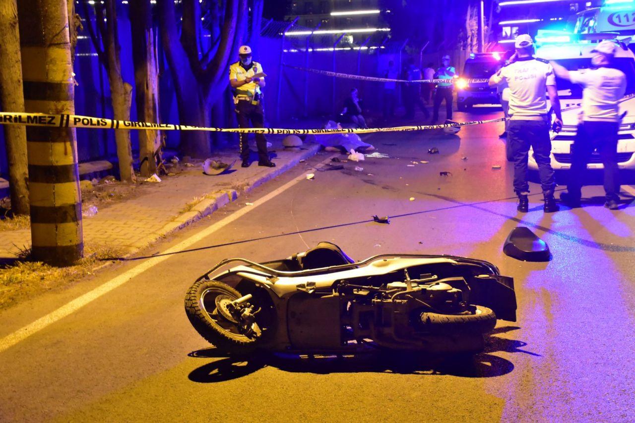 Üniversite öğrencisi moto kurye hayatını kaybetti - Sayfa 1