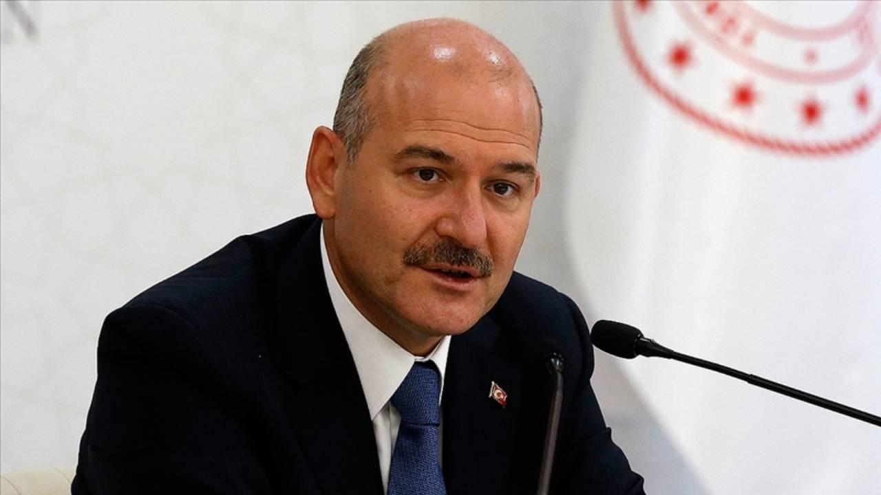 Bakan Soylu:  Cumhurbaşkanı Erdoğan'ın emrindeyiz, emrinde olacağız!
