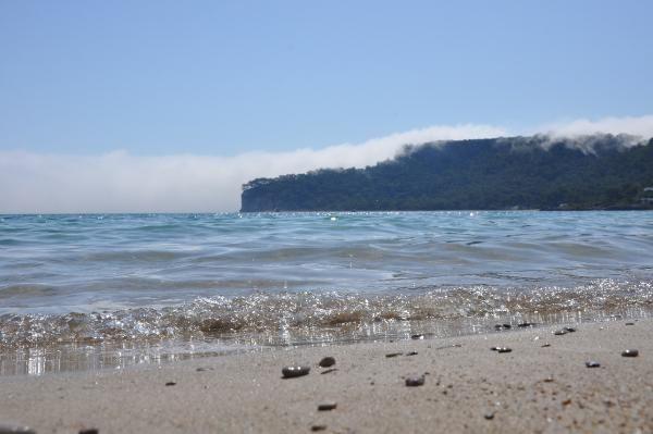 Denizdeki sis, turistleri şaşırttı - Sayfa 2