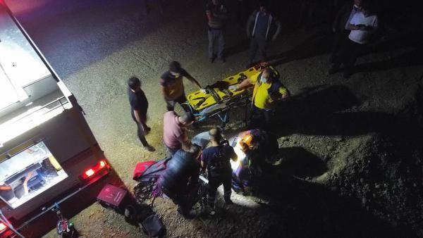 Otomobil 100 metrelik uçurumdan yuvarlandı: 1 ölü, 4 yaralı - Sayfa 4