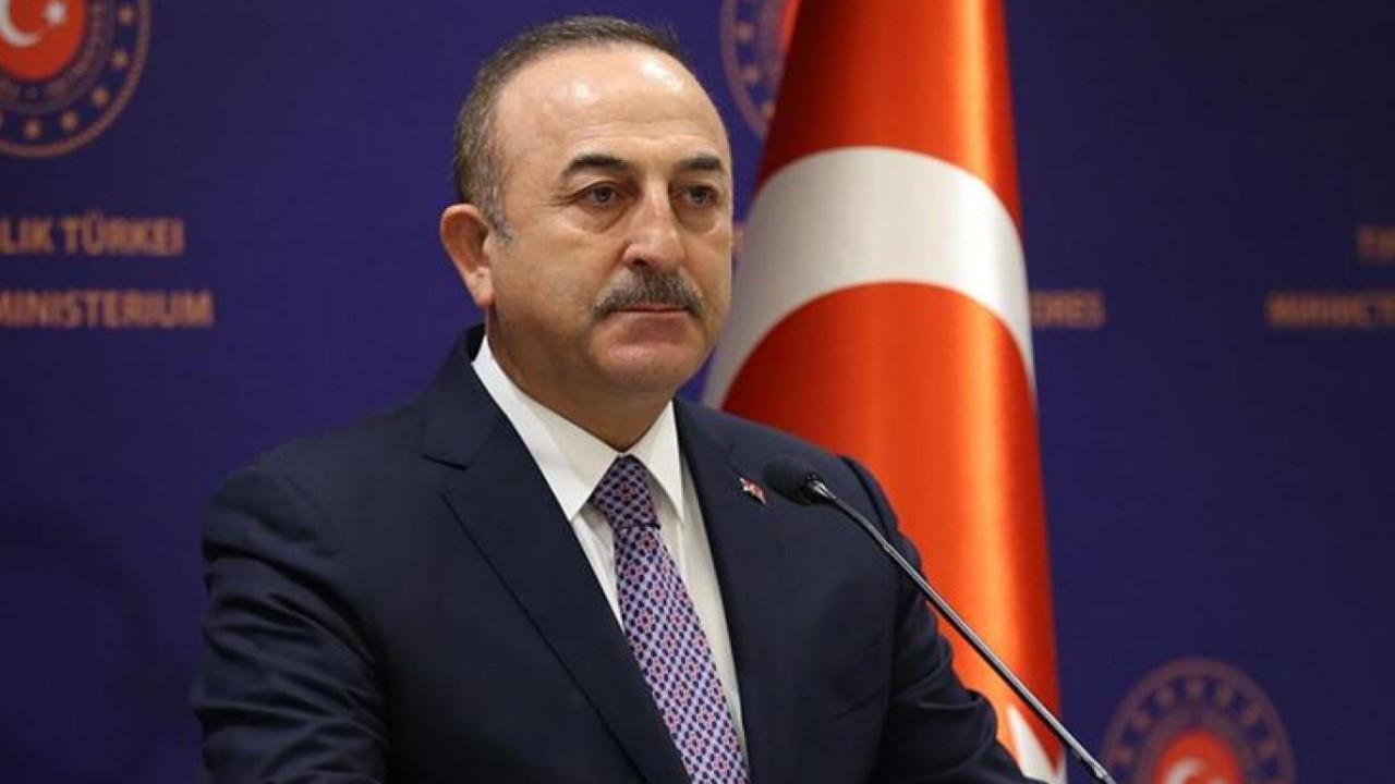 Bakan Çavuşoğlu'ndan İsrail açıklaması
