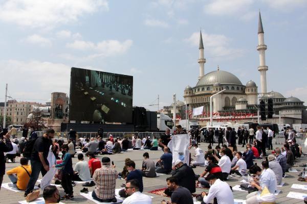Taksim Camii açılışına sincabı ile geldi - Sayfa 4