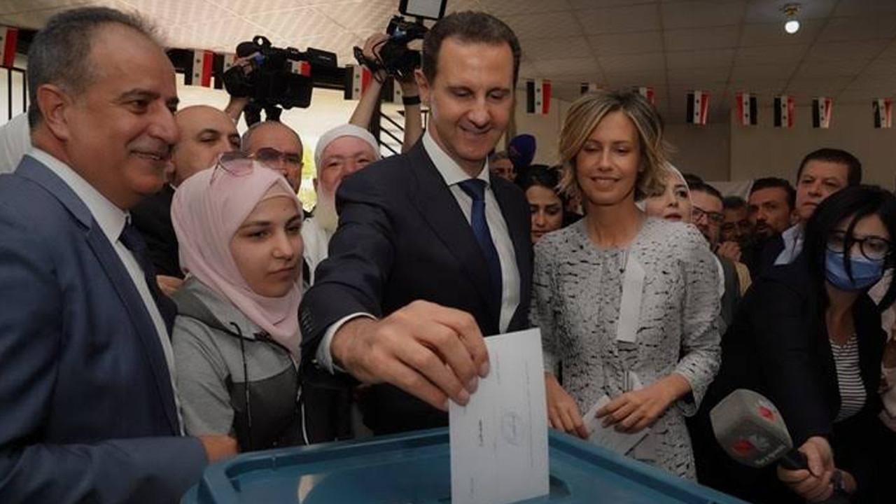 Suriye'deki seçimleri Beşar Esad'ın kazandığı açıklandı