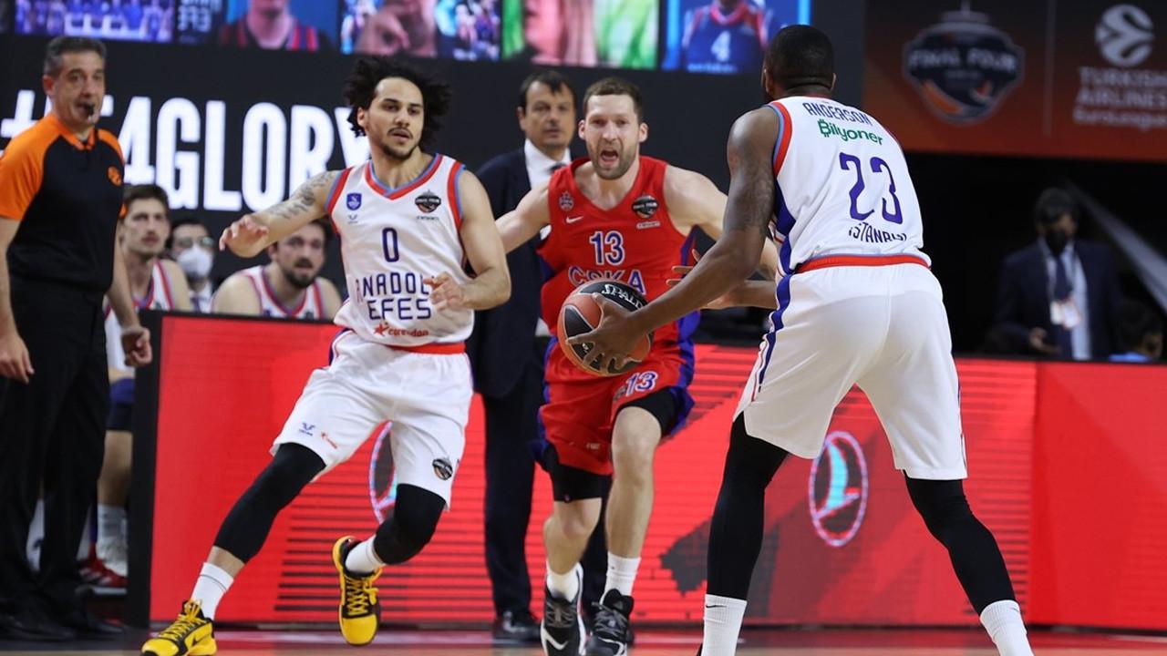 Anadolu Efes, Euroleague'de adını finale yazdırdı