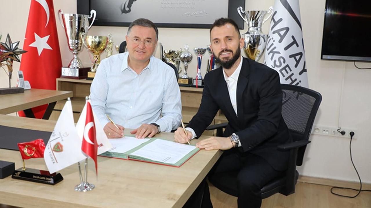 Emre Çolak, Atakaş Hatayspor'a imza attı