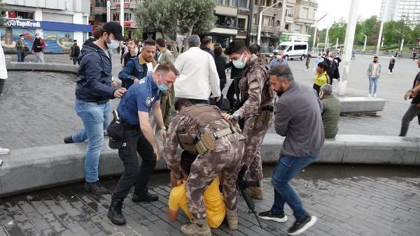 Taksim Meydanı'nda kemerli kavga; Özel harekat devreye girdi: 6 gözaltı - Sayfa 3
