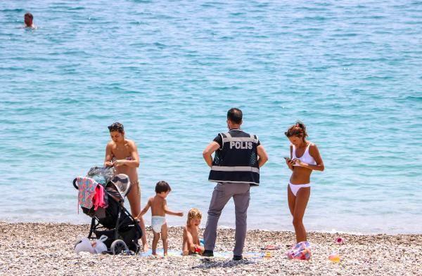 Kısıtlamada sahildekilere pasaport kontrolü - Sayfa 4