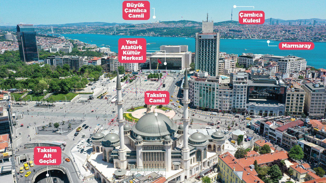 İstanbul'un 6 dev projesi tek fotoğrafta