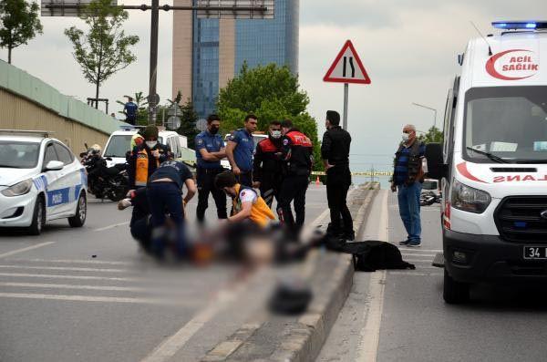 Avcılar'da motosiklet kazası : 1 ölü, 1 yaralı - Sayfa 1
