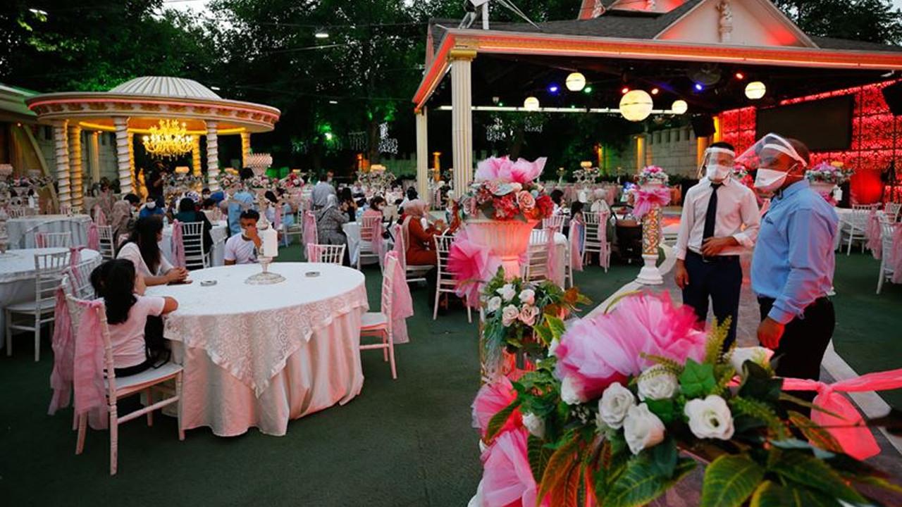 Düğün, nikah ve nişan kısıtlaması kaldırıldı; Yeni dönem 1 Haziran itibari ile başlıyor