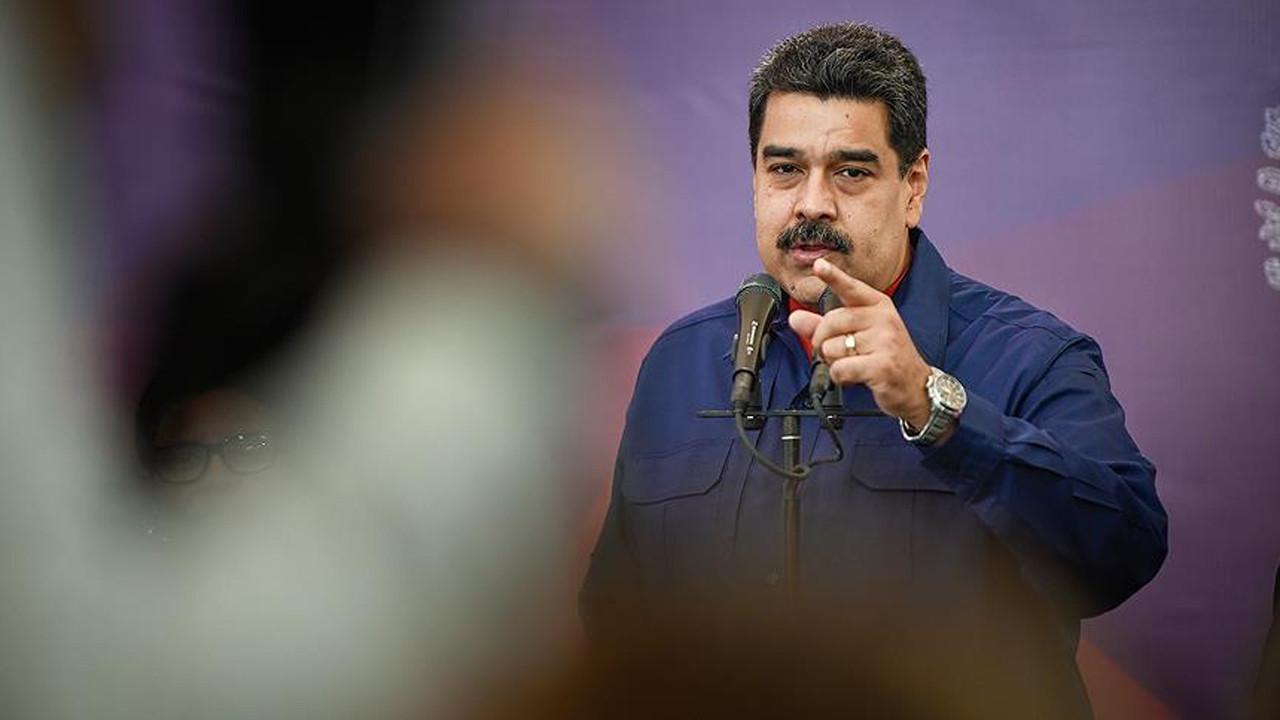 Maduro'dan uluslararası topluma Kolombiya eleştirisi