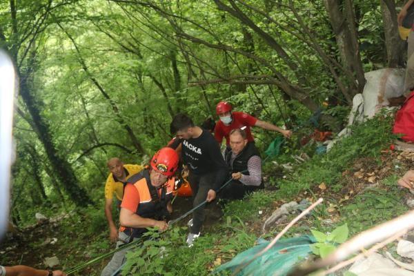 Kalede gezerken 80 metreden düşen genci kurtarmak için seferber oldular - Sayfa 2