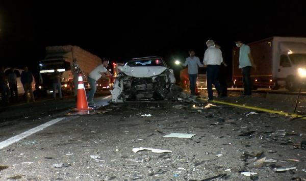 Diyarbakır'da 'hatalı sollama' kazası; 4 kişinin durumu ağır - Sayfa 1