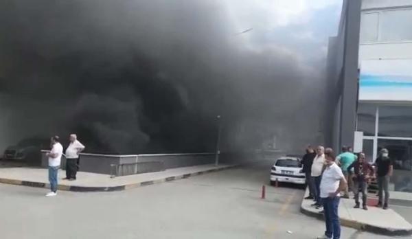 Ankara'da iş merkezinde yangın - Sayfa 2