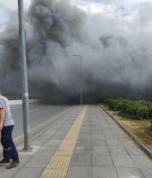 Ankara'da iş merkezinde yangın - Sayfa 3