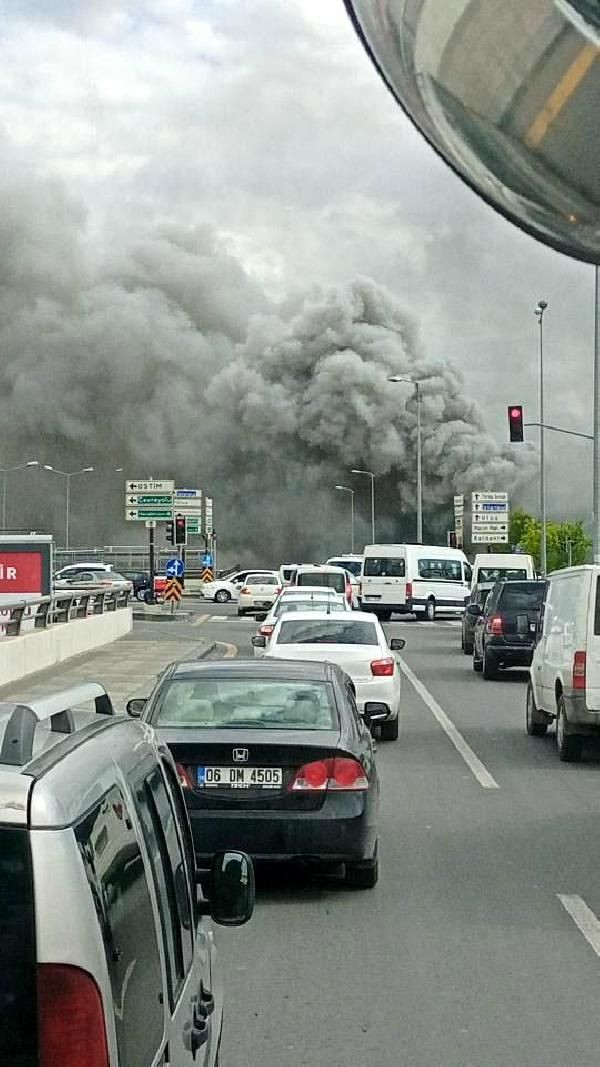 Ankara'da iş merkezinde yangın - Sayfa 4