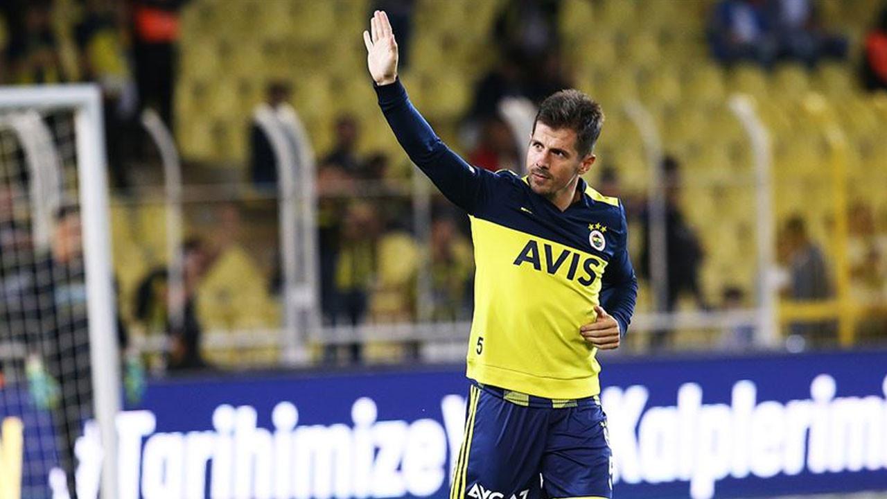 Emre Belözoğlu, Fenerbahçe'ye duygusal bir mektupla veda etti