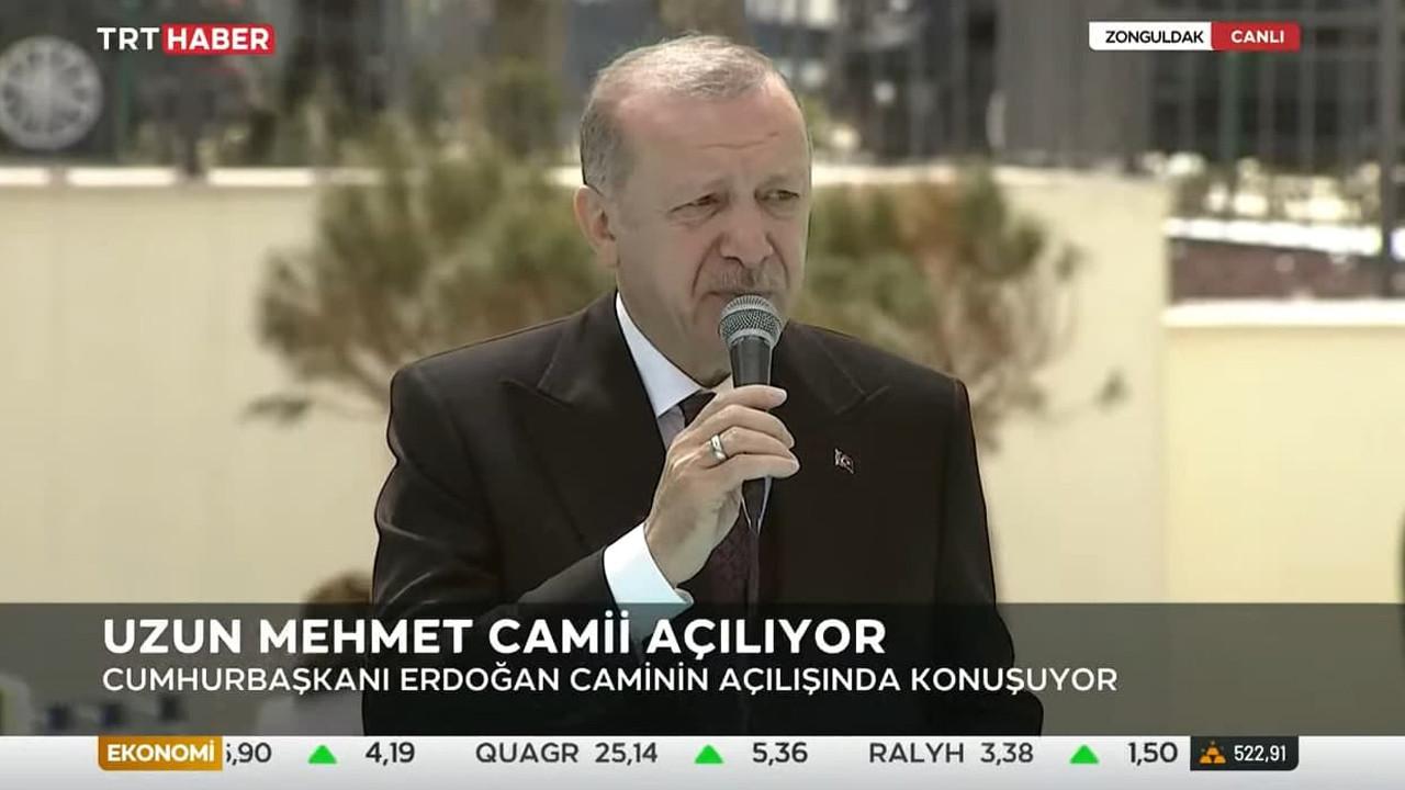 Cumhurbaşkanı Erdoğan: Birazdan Zonguldak'tan müjde vereceğiz