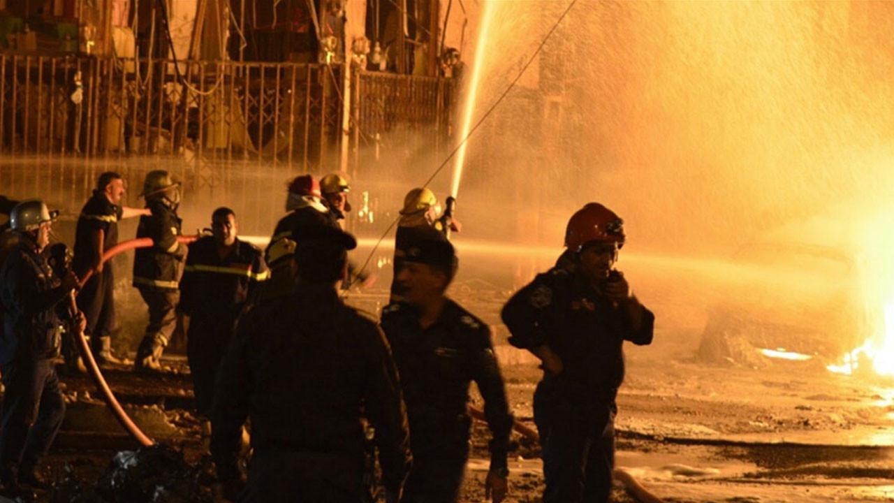 Bağdat'ın Kazımiye semtinde şiddetli patlama