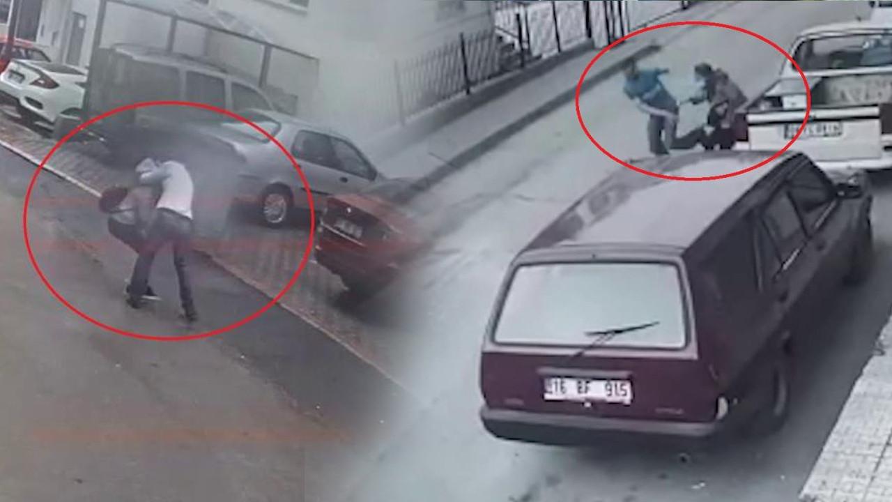 Bursa'da güpegündüz kadınlara taciz dehşeti! O anlar kamerada
