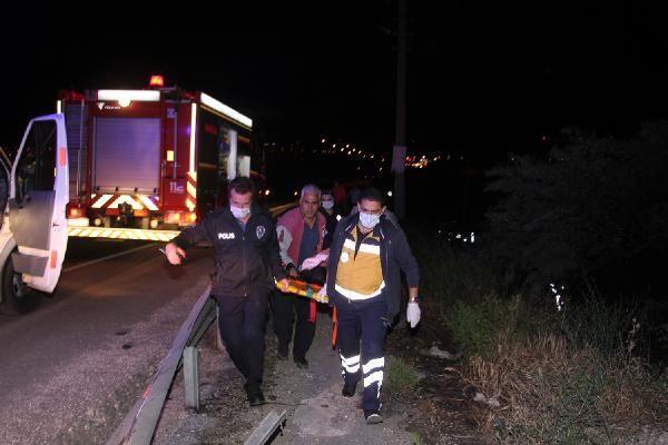 Kula'da şarampole devrilen otomobildeki 3 kişi ağır yaralandı - Sayfa 4