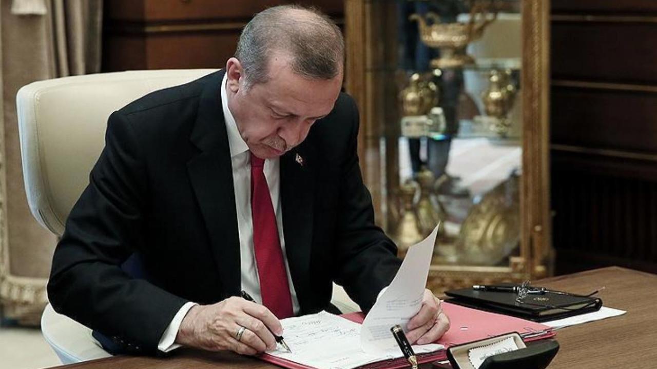 Cumhurbaşkanı Erdoğan'ndan bazı bakanlıklara yeni atamalar