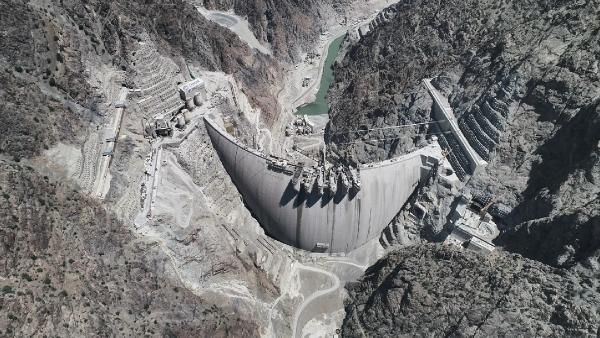 Türkiye'nin en yüksek barajının su tutacağı tarih belli oldu - Sayfa 1