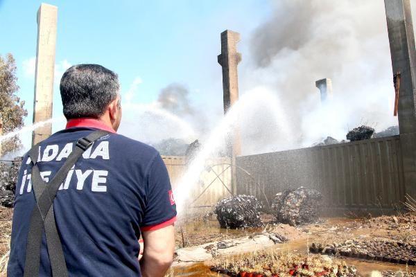 Adana'da geri dönüşüm tesisindeki yangın 12 saatte kontrol altında - Sayfa 4