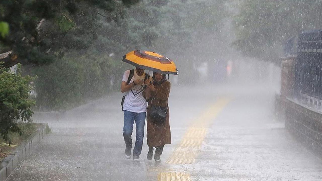 Meteoroloji uyardı: Şemsiyeleri hazırlayın yağış geliyor