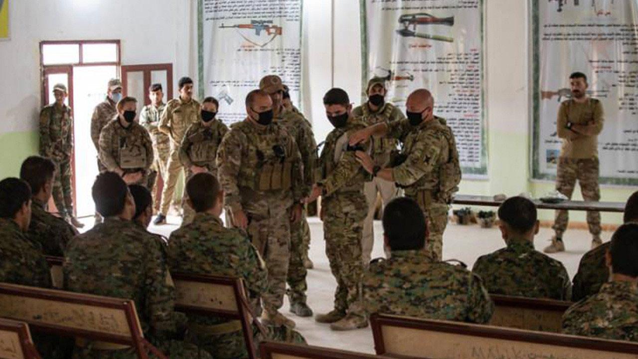 ABD'den PKK/YPG'ye bir destek daha: Sertifikalı eğitim verdiler