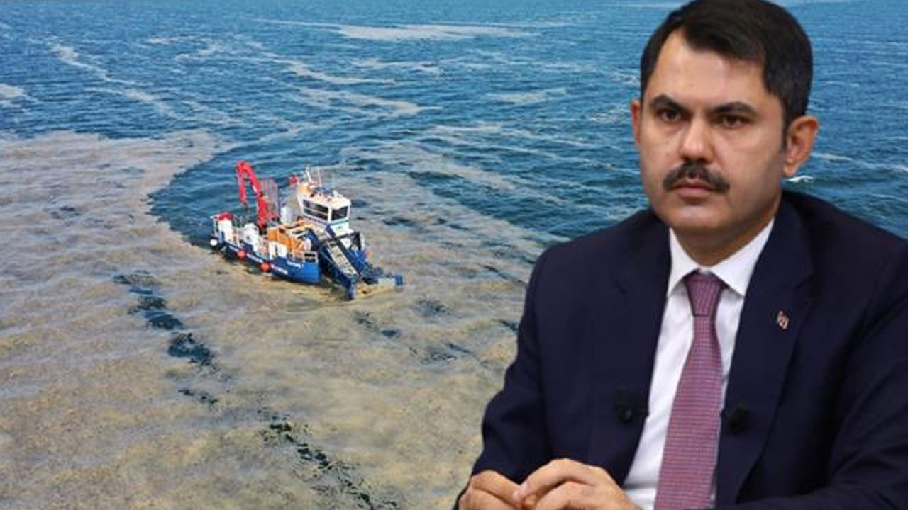Bakan Kurum'dan deniz salyası sorunuyla ilgili açıklama!