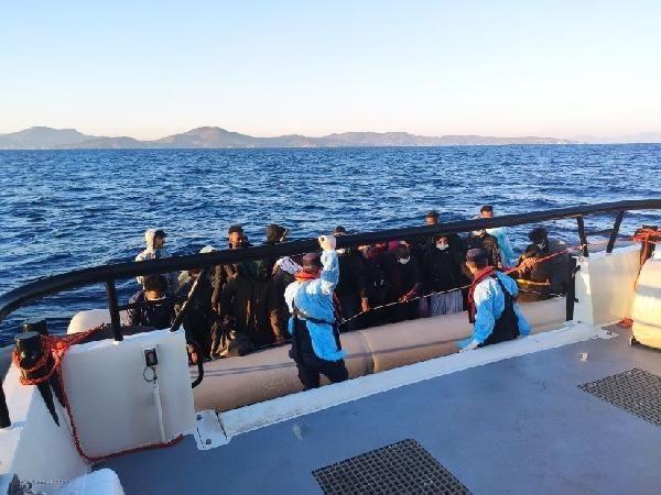 İzmir'de 131 kaçak göçmen kurtarıldı - Sayfa 1