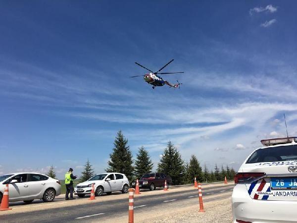 Eskişehir'de helikopter destekli denetimde 21 sürücüye ceza - Sayfa 2