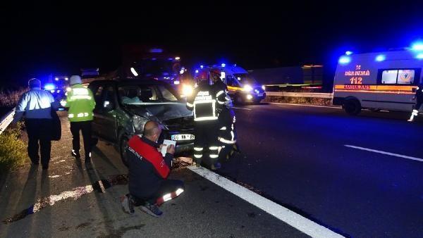 TEM'de zincirleme kaza; Uzun araç kuyrukları oluştu - Sayfa 4