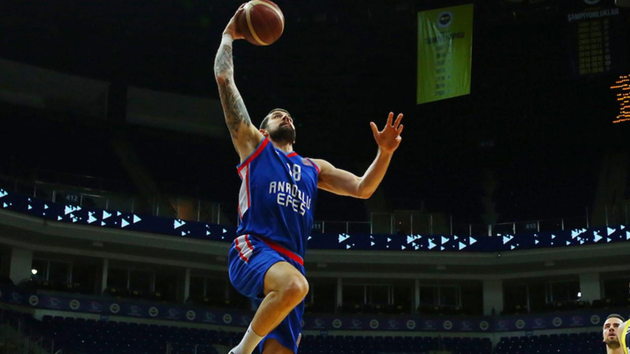 Basketbol Süper Ligi şampiyonu Anadolu Efes oldu