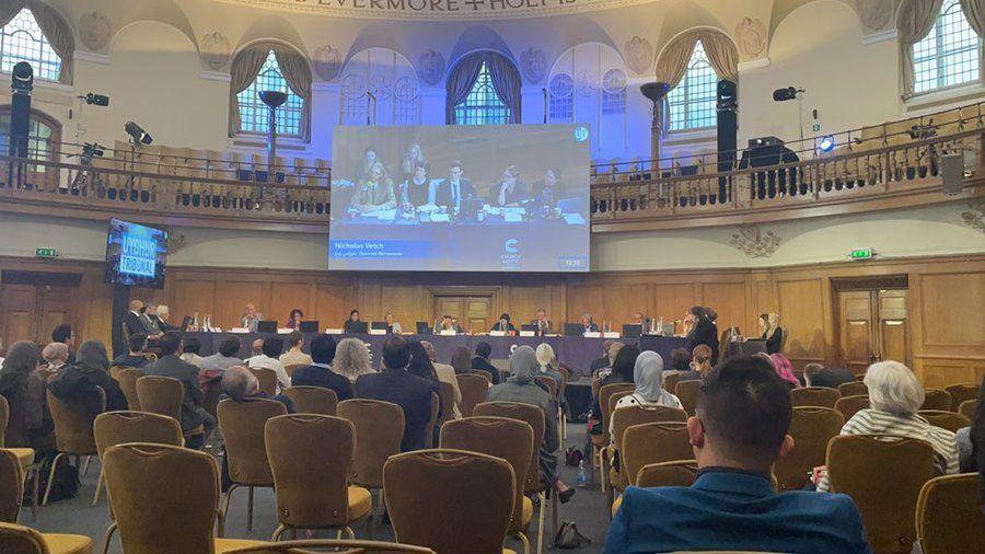 Çin yönetimi Londra'da yargılanmaya başladı! 'Uygur Mahkemesi' tanıkları dinliyor - Sayfa 1